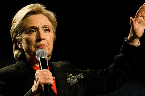 Hillary Clinton Photo (cropped): Brett Weinstein © 2008 Flickr CC