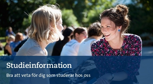Studieinformation