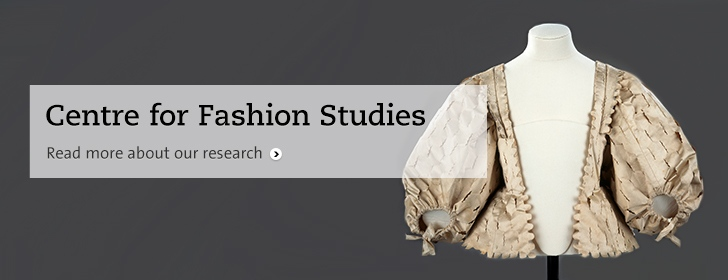 Centre for Fashion Studies banner