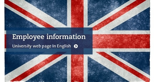 Employee information - University web page in English Photo: Nicolas Raymond © 2012 Flickr CC