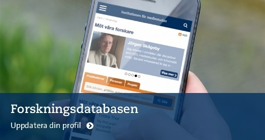 Research Database Photo: Fredrik Mårtenson © 2016
