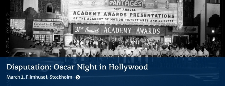 Photo: Academy Awards®, 1959 © University of California, UCLA Library