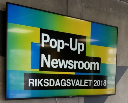 Foto: Fergus Bell, Pop-Up Newsroom
