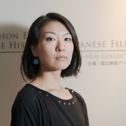 Photo of Saki Kobayashi at the National Film Archive of Japan