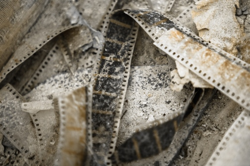 Old movie reels. Photo: Sved Oliver © Mostphotos
